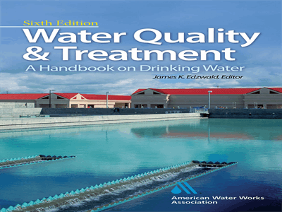 Water Quality & Treatment A Handbook on Drinking Water